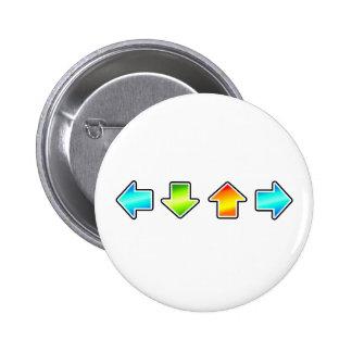Dance Dance Revolution Buttons