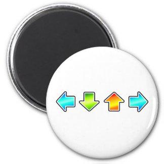 Dance Dance Revolution Fridge Magnets