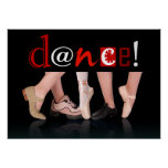Dance! - Dance Shoes Poster