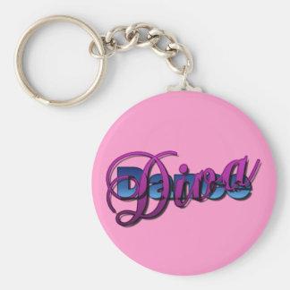 Dance Diva Keychain