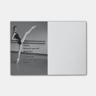 Dance Dream Gift for Dancers Post-it Notes