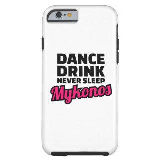 Dance drink never sleep tough iPhone 6 case