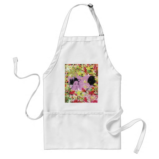 Dance eightfold dance 11 of flower apron