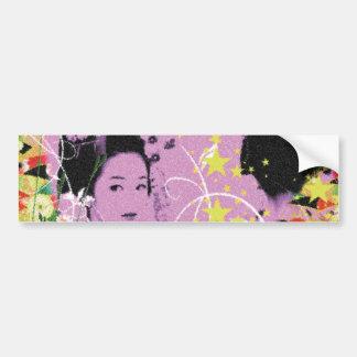 Dance eightfold dance 11 of flower bumper sticker