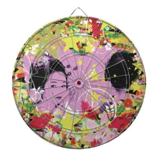 Dance eightfold dance 11 of flower dart board