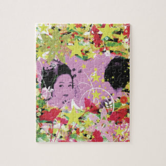 Dance eightfold dance 11 of flower jigsaw puzzles