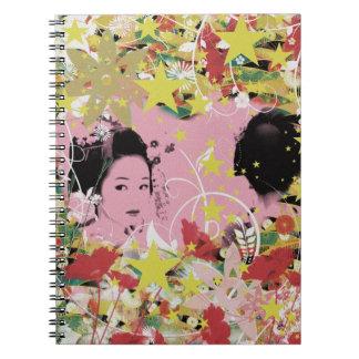 Dance eightfold dance 12 of flower notebooks