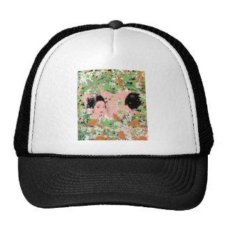 Dance eightfold dance 2 of flower trucker hat