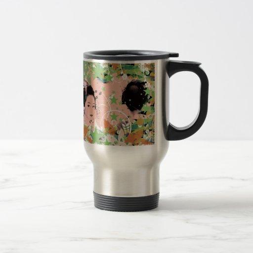 Dance eightfold dance 2 of flower mug
