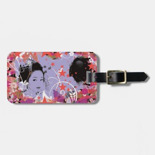 Dance eightfold dance 4 of flower travel bag tags