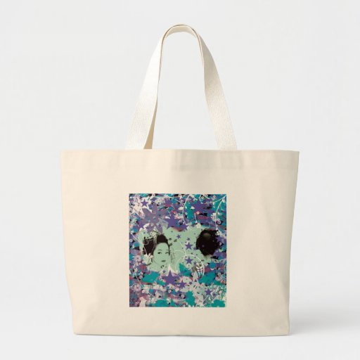 Dance eightfold dance 5 of flower tote bags