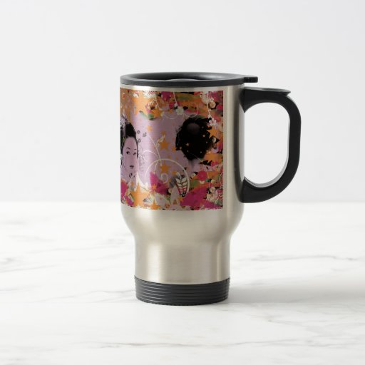 Dance eightfold dance 6 of flower mug