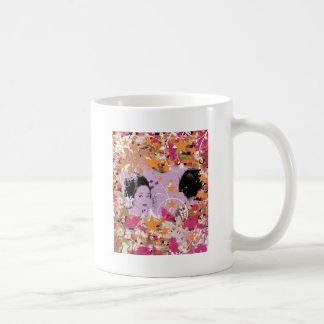 Dance eightfold dance 6 of flower mugs