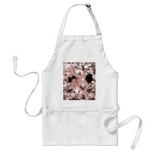 Dance eightfold dance 7 of flower apron