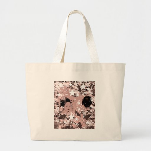 Dance eightfold dance 7 of flower canvas bag