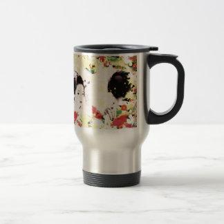 Dance eightfold dance 9 of flower 15 oz stainless steel travel mug