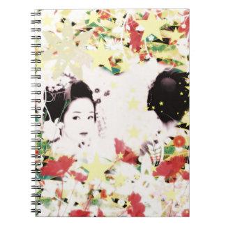 Dance eightfold dance 9 of flower notebook