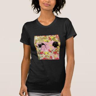 Dance eightfold dance of flower t-shirts