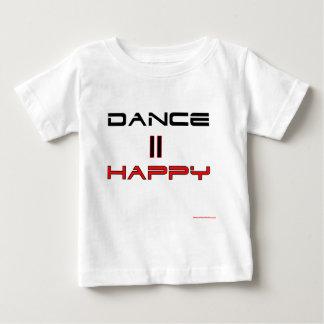 Dance Equals Happy Baby T-Shirt