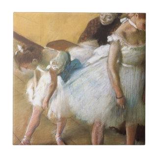 Dance Examination by Edgar Degas, Vintage Ballet Ceramic Tiles