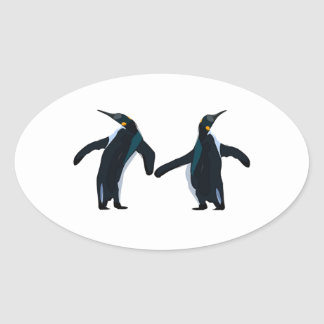 Dance Fever Oval Sticker