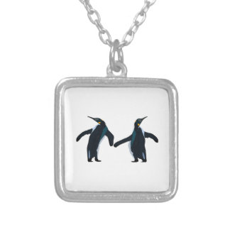 Dance Fever Silver Plated Necklace