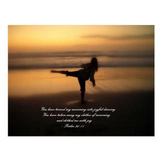 Dance for Joy Postcard
