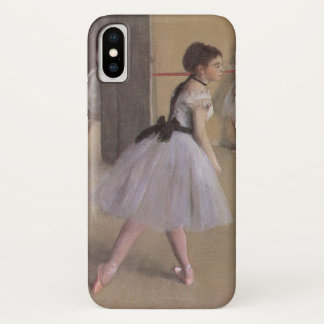 Dance Foyer at the Opera by Edgar Degas iPhone X Case