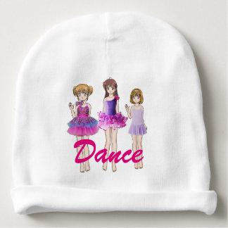 Dance girls baby beanie