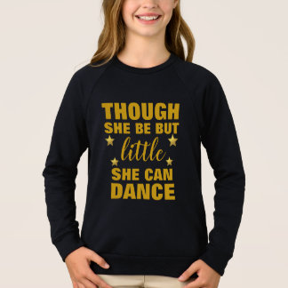 Dance -Girls'American Apparel Raglan Sweatshirt