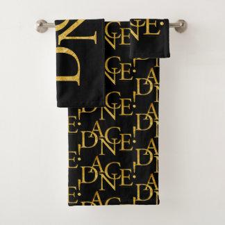 Dance! (Gold) Bath Towel Set