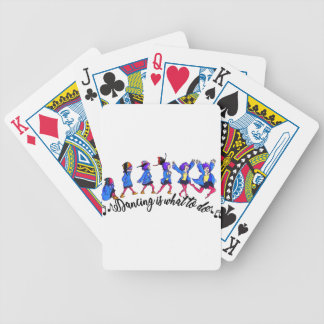 Dance hall is what to C Bicycle Playing Cards
