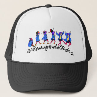 Dance hall is what to C Trucker Hat