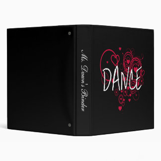 Dance Hearts Binder