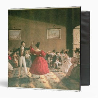 Dance in a Salon in Buenos Aires c 1831 w c on p Binders