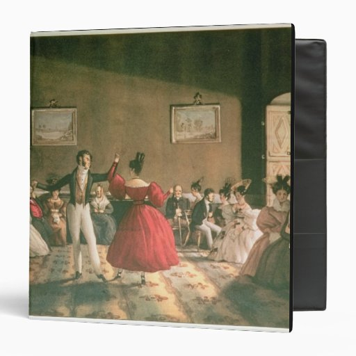Dance in a Salon in Buenos Aires, c.1831 (w/c on p Binders