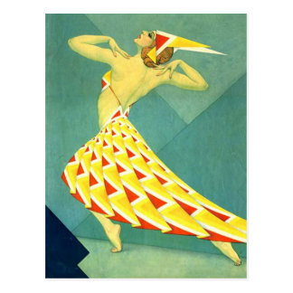 Dance in Deco Post Card