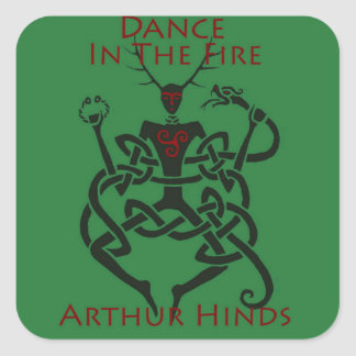 Dance in the Fire Sticker