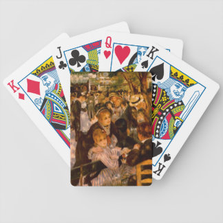 Dance in the Moulin of the Galette Bicycle Playing Cards