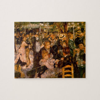 Dance in the Moulin of the Galette Jigsaw Puzzle