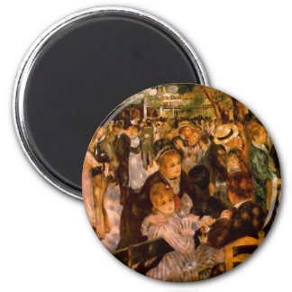Dance in the Moulin of the Galette Magnet