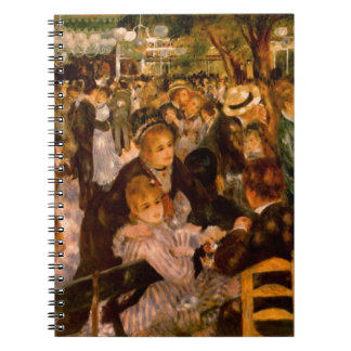 Dance in the Moulin of the Galette Notebook