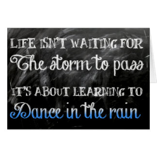 Dance in the Rain Card