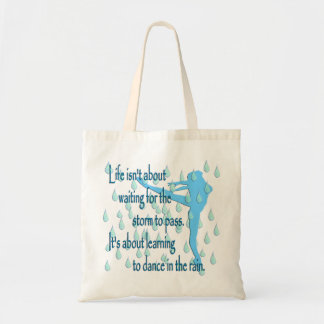 Dance in the Rain Tote Bag