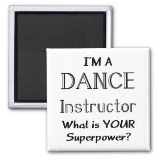 Dance instructor magnet