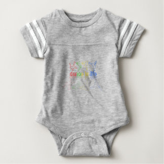 Dance is life baby bodysuit