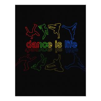 Dance is life letterhead