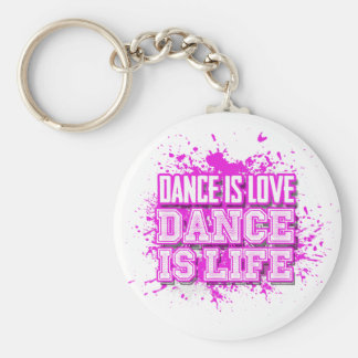 Dance is Love Dance is Life Keychain(s) Keychain