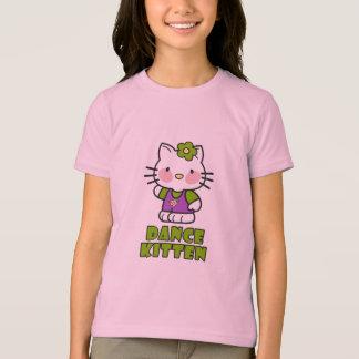 Dance Kitten Ringer T-shirt