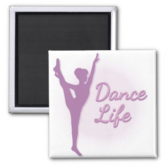 Dance Life Ballerina - Purple - Magnet